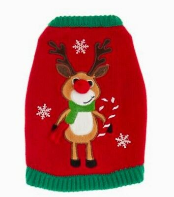 Guinea Pig Reindeer Small Pet Animal Holiday Christmas Sweater Costume