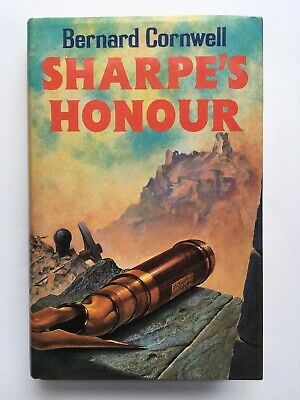 Bernard Cornwell - Sharpe's Honour - UK 1985 HB with DJ First Edition 1st/1st