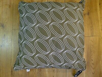 NWT Orla Kiely exclusively for Sainsbury's brown cushion