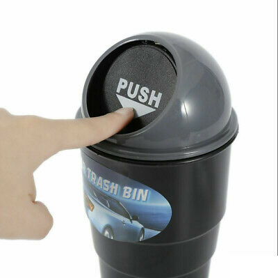 Mini Dust Holder Car Garbage Bin Cup Can Box AUTO Rubbish Supplies Trash