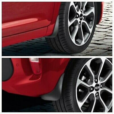 New Genuine Kia Picanto GT Line 2017> Front & Rear Mud Flaps