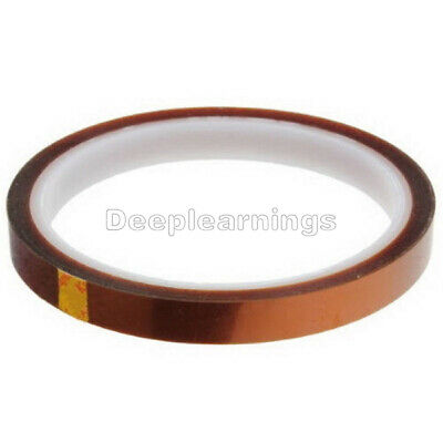 NEW 10mm 100ft BGA High Temperature Heat Resistant Polyimide Gold Kapton Tape