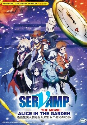Anime DVD Servamp The Movie : Alice In The Garden *English Subtitle* + Free Gift