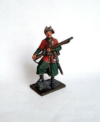 Collectible Zaporizhia Cossack with sabre Thirty Years/' War Tin Soldier 54mm
