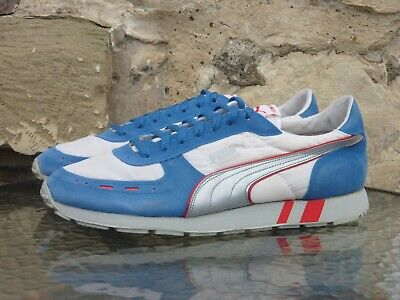 Vintage PUMA Denver UK 11 OG 1988 Made In Taiwan cyclone fast rider mirage