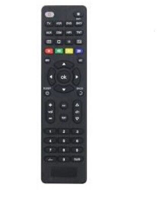 PIFCO Universal Remote Control Tv,Vcr,Sky/Sat/Cable Hifi Dv Bt(Dtt,Tnt,Sky) New