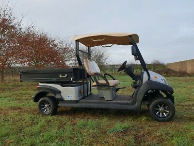 48v Electric Utility Vehicle - with Cargo bed - Ex demo