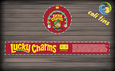 10x Biscotti Boyz -  Lucky Charms Cali Tin Presstin 100ml Labels