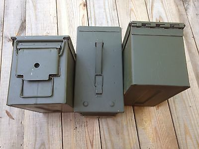 9 PACK .50 CALIBER 5.56mm AMMO CAN M2A1 50CAL METAL AMMO CAN BOX