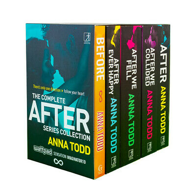 Anna Todd 5 Books- After Series