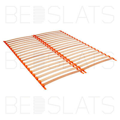 Premium Roll-out Bed Slat Holders with Suspension for 53mm Sprung Bed Slats