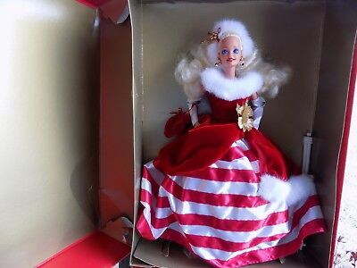 BARBIE DOLL PEPPERMINT WINTER PRINCESS COLLECTION 13598 LTD ED 1994 in Box VTG