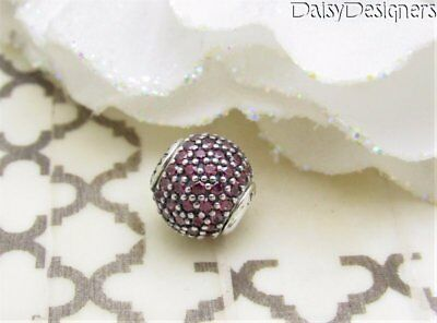 NEW Authentic PANDORA Silver ESSENCE PASSION Pave Charm 796063CFR RETIRED