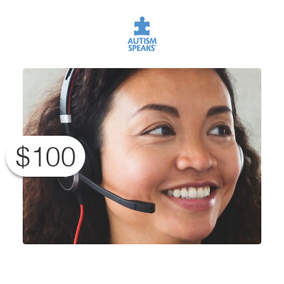 $100 Charitable Donation For: providing individualized support