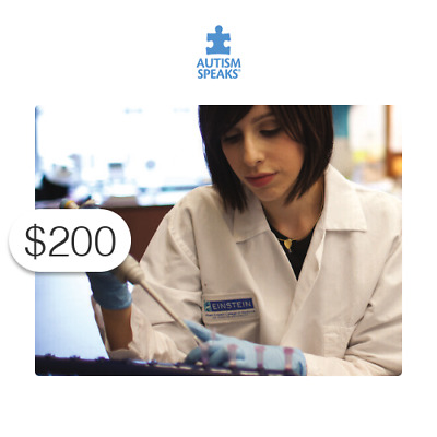 $200 Charitable Donation For: research to find personalized therapies