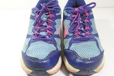 e73092c1d7e NIKE Dual Fusion Run 3 Girl s Athletic Running Shoes Sz 7Y  654143-400 (