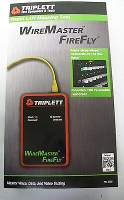 Triplett 3290 WireMaster FireFly with 100 Re-usable Remotes