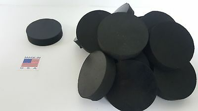 """Rubber Spacer Anti-vibration10PACK 1/2 THK X 2""""OD MADE IN THE USA FREE SHIPPING"""