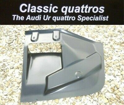 NEW AUDI UR QUATTRO TURBO COUPE Mb & Rr OIL COOLER UNDER TRAY  857 121 281