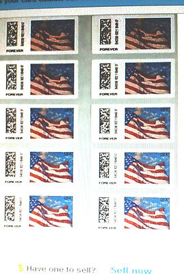 "10 USPS Certified Forever Stamps Sheet or Strips > LOOK > "" Save Now "" < $6.75 >"