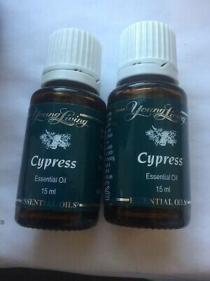 Young Living CYPRESS Oil 15ml x 2