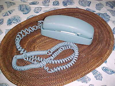 AT&T Light Blue Telephone Trimline 210 Phone Push Button Touch Tone Desk Wall