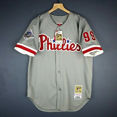 323159660 100% Authentic Mitch Willaims Mitchell   Ness Phillies 93 Jersey Size 44 L  Mens