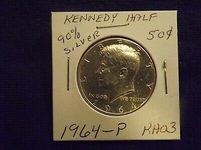 1964 P Kennedy 90% Silver Half Dollar Coin  Rev. Eagle  Bullion Sangria Horde 3