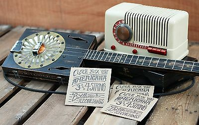 Old time 1900's Cigar Box Guitar Music - CD  3 & 4 string  Blues and Americana
