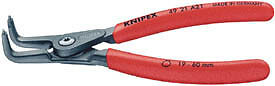 Knipex Expert 130mm Circlip Pliers 90° External Straight Tip 10 - 25mm 75094