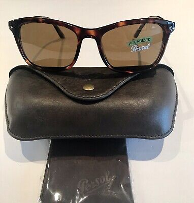 5d5cf1401d PERSOL Men s Sunglasses Polarized 3192-S Square New 100% Auth Made In Italy