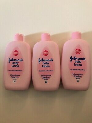 Johnsons Baby Lotion Baby Soft 300 ML Lot Of 3