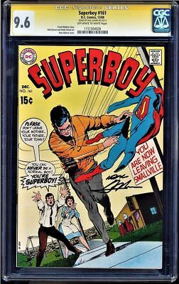 Superboy #161 Cgc 9.6 Oww Ss Neal Adams Signed Single Highest Graded #1151504026