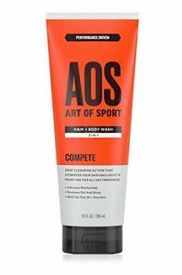 Art of Sport Shampoo and Shower Gel 2-in-1 with Tea Tree Oil and Aloe Vera.