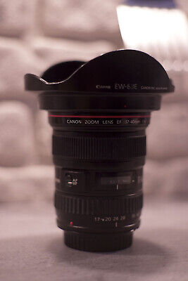 Canon EF 17-40mm F/4.0 L USM ULTRASONIC ZOOM Lens hood FULL FRAME OR CROP SENSOR