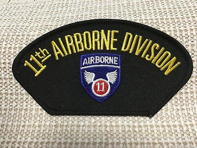 #P53 US ARMY 11TH AIRBORNE PATCH