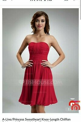 """BNWT Burgundy red Size 14 Ball, Prom, Cocktail, Bridesmaid 39"""" chest 31"""" waist"""