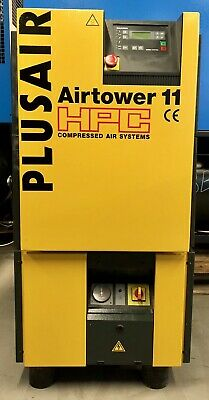 Kaeser / HPC Airtower 11 Rotary Screw Compressor With Dryer! 7.5Kw, 40Cfm!