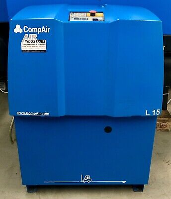Compair L15 Rotary Screw Compressor! 87Cfm! 15.0Kw! 7.5 Bar! Fully Serviced!