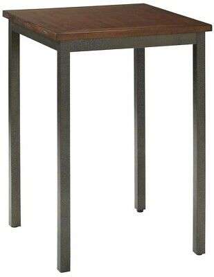 Home Styles Distressed Chestnut Pub Bar Table Kitchen Dining Wood Brown