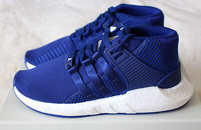 56b089a85d340 New Adidas MasterMind World EQT Support Mid 93 17 Blue Ink Skull UK 9.5 US