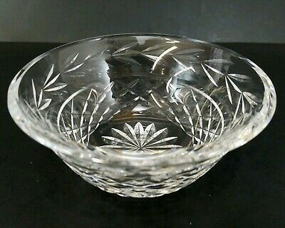 """Waterford Crystal Glandore Bowl 5"""" Finger Bowl Signed Old Mark Made in Ireland"""