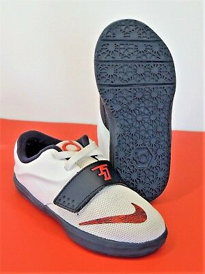 online store 3cc6b 06131 Nike Air Kevin Durant TD 9C VII 7 Shoe Sneaker Basketball Youth PS USA  White KD
