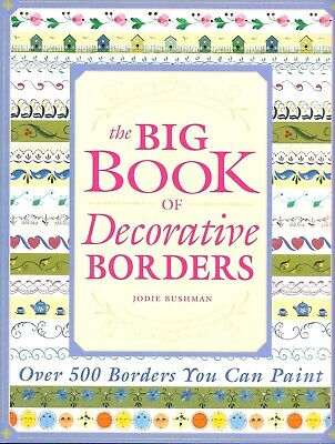 Painting Decorative Borders How To Instruction BOOK Floral Tole Small Edges