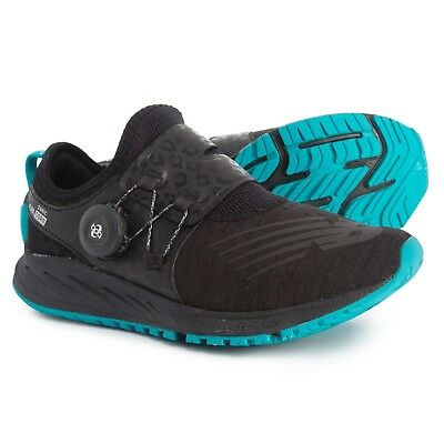 on sale 98a8c b3e70 NEW BALANCE FUELCORE Sonic Womens Black Teal Boa Running Shoes Size 5 |  WSONISB