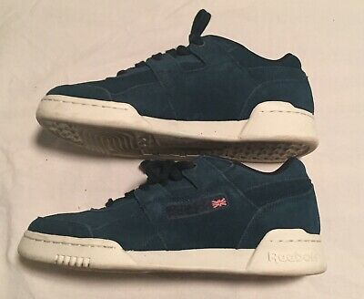 0e5e890eef8 Reebok Classic Blue Montana Cans Casual Athletic Shoes Men s 5.5 Preowned  GUC