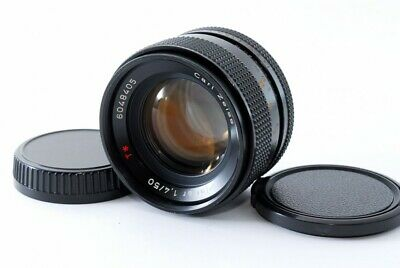 Excellent Contax Carl Zeiss Planar T* 50mm f/1.4 AEJ Manual Focus Lens from JP