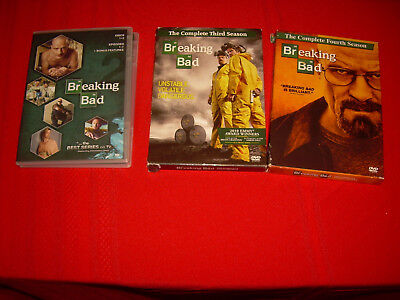 MINT Condition! Second-Third-Fourth Season 2-3-4 Two-Three-Four Breaking Bad DVD