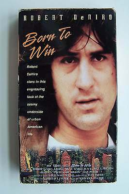 Born to Win VHS Video Tape 1971