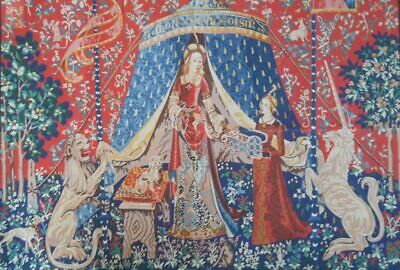 The Lady And The Unicorn - Printed Tapestry
